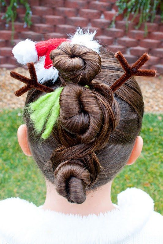Christmas Hairstyles Easy.24 Easy Christmas Hairstyles For Girls Our Hairstyles