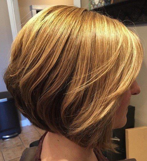 Two-Tone Bob Hairstyle
